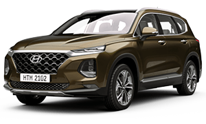 Hyundai Santa Fe 2.4 Xăng Đặc Biệt